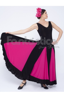 fb3150d74562 ... dresses & skirts for woman · Flamenco and Sevillanas Dress/ Black and  Fuchsia Dress for Woman. . Previous Next