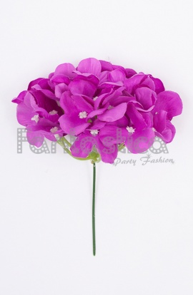 27b086a4575e Flores color violeta, lila, morado y púrpura para flamencas y ...