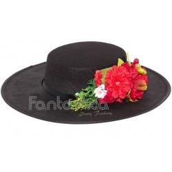 Tocado de Flores para el Pelo o Sombrero Modelo Esperanza Color ... 414e1751fb8