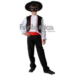 Disfraz Para Nino De El Zorro Iii