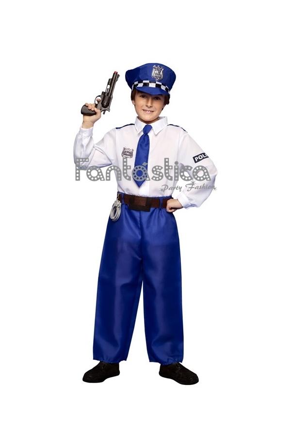 01acb38b2 Disfraz para Niño Policía II