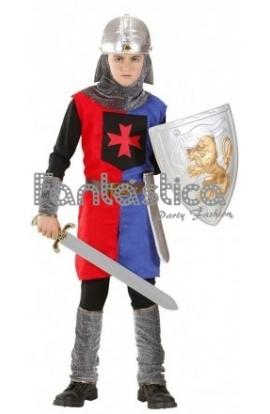 7b9362597 Disfraz para Niño Soldado Caballero Medieval XI