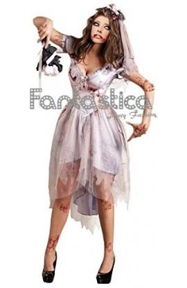 asombroso novia por correo disfraz