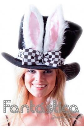Precioso y adorable Sombrero para Disfraz - Chistera con Conejo. Divertido  sombrero de Sombrero para Disfraz - Chistera con Conejo 6d67bf9b082