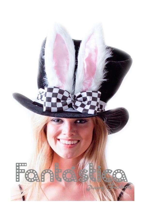 Precioso y adorable Sombrero para Disfraz - Chistera con Conejo. Divertido sombrero  de Sombrero para Disfraz - Chistera con Conejo c585e6b5a80