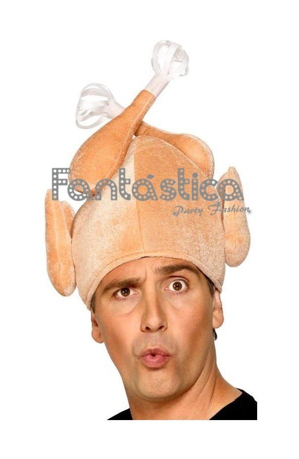 Divertido y gracioso Gorro para Disfraz de Pollo Asado. Divertido sombrero  de Pollo Asado perfecto para Carnaval 299972cbd3c
