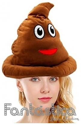 Gracioso Gorro para Disfraz de Caca del Whatsapp. Divertido sombrero de  Caca del Whatsapp perfecto para celebrar Carnaval d129c671c88