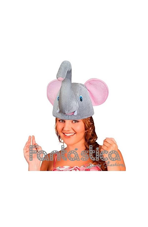 Chulísimo y divertido Gorro para Disfraz de Elefante. Simpático sombrero de  Elefante f6c19a3de1c