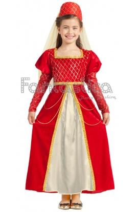 Disfraces medievales mujer nina