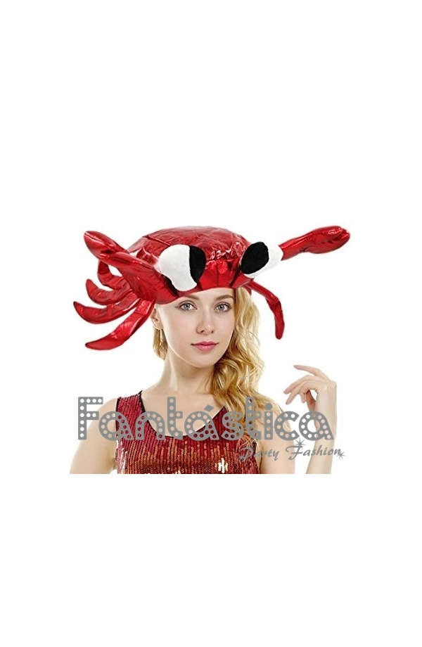 Divertido sombrero de Cangrejo perfecto para lucir con tu disfraz en  Carnaval 8393515d402