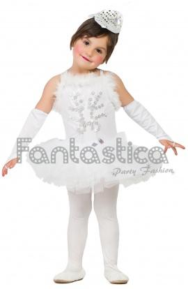 d63d7d19f07 Disfraz para Niña Bailarina de Ballet Blanca II. Hermoso disfraz para niña  de bailarina de ballet