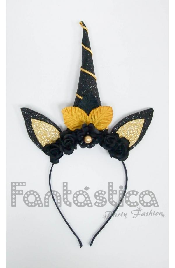 Chulísima Diadema de Halloween Sombrero de Bruja y Orejas de Gata en color  Negro y Dorado. Fantástica para completar tu disfraz de Bruja y pasar una  noche ... c9447fb058f