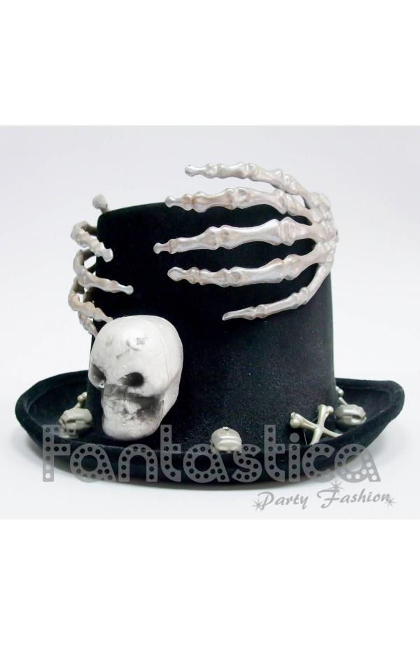 Sombrero de Halloween Calavera d55b865b8c2
