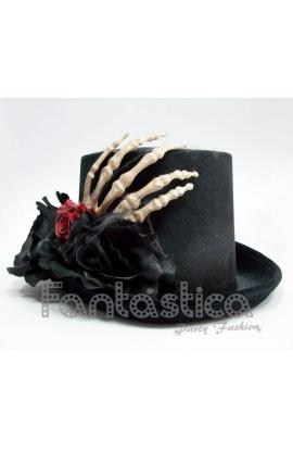 ... Sombrero de Halloween Mano Cadáver y Flores. . Previous Next 3ce1de2d894