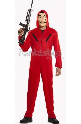 Disfraz para Hombre de Atracador de la famosa serie