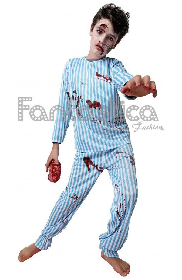 foto de Disfraz para Niño Enfermo Zombie