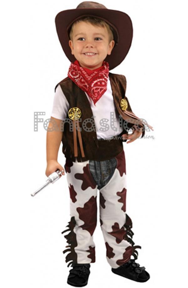 Asombroso Disfraz para Niño Sheriff Vaquero Cowboy ideal para Carnaval d5b3351f0ef