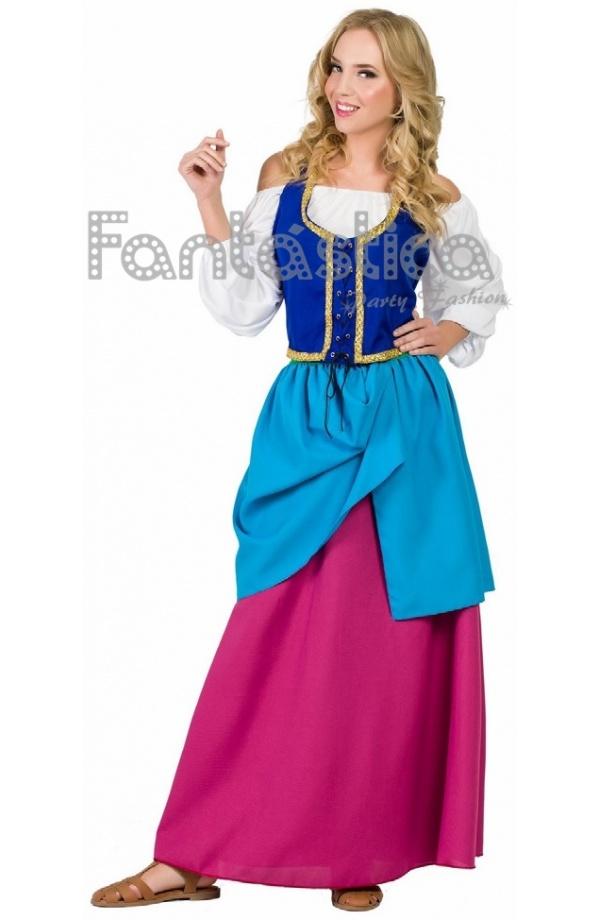 706e3c396 Disfraz para Mujer de Mesonera Medieval. Guapísimo disfraz de Mesonera  Medieval ideal para Carnaval