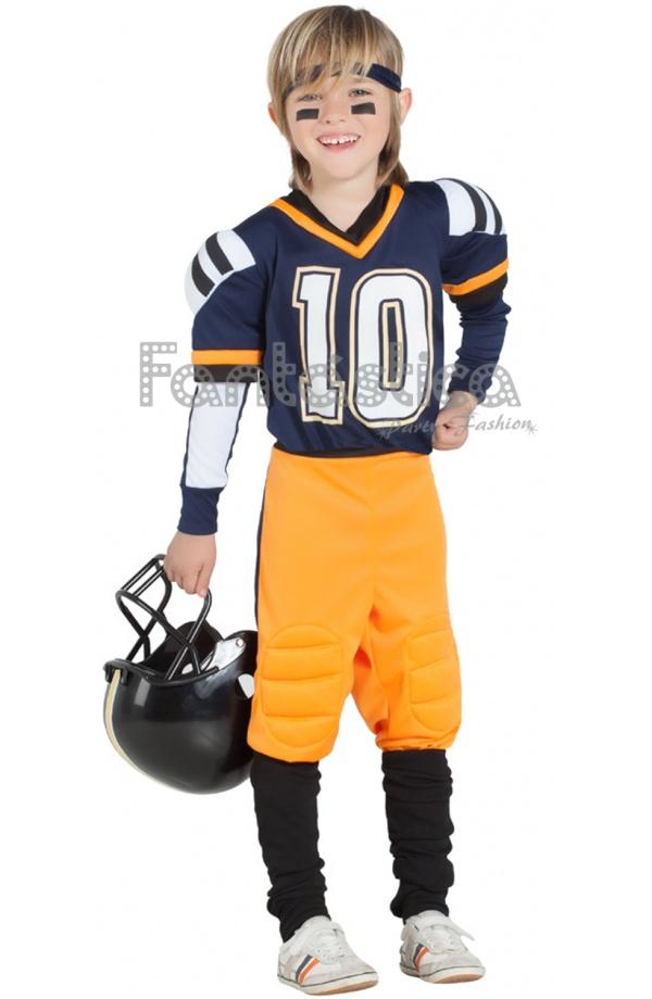Disfraz Para Niño Jugador De Rugby Fútbol Americano