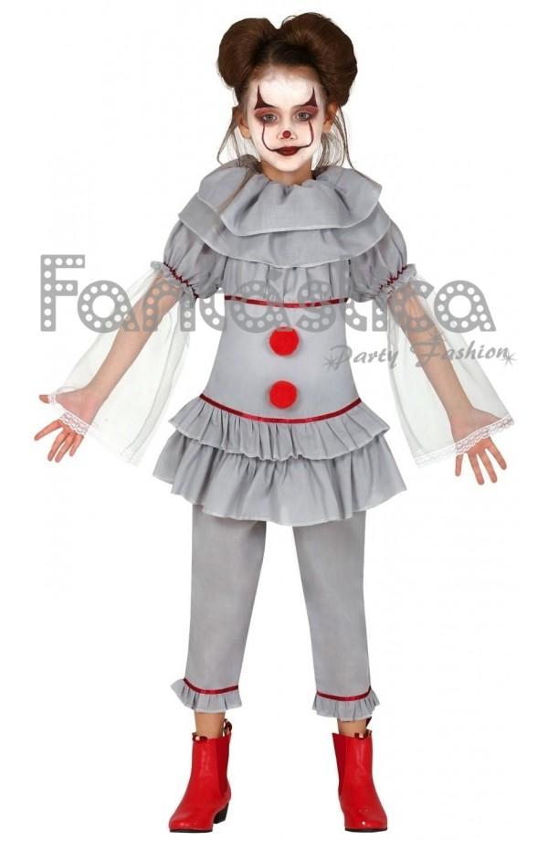 Disfraz Para Niña Payasa Asesina