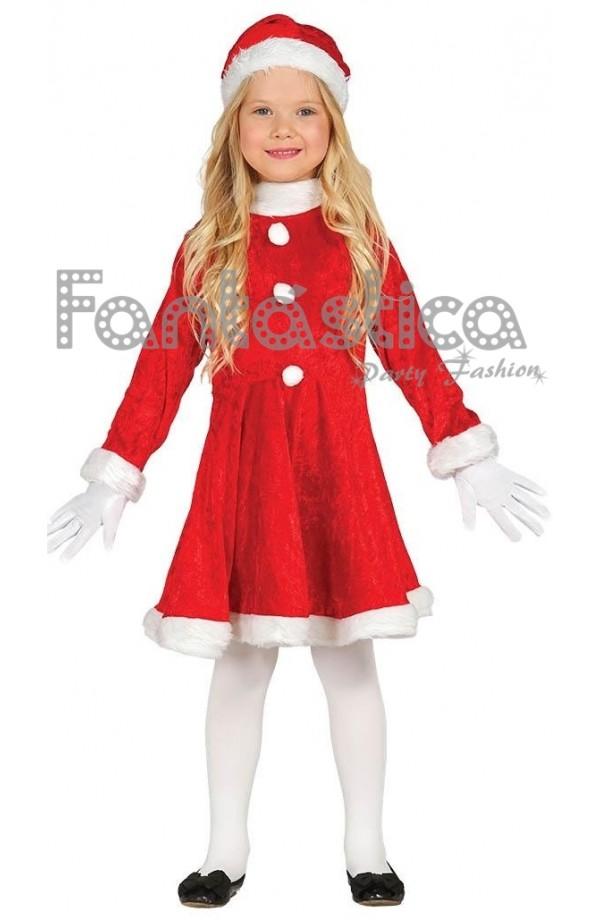 Disfraz Para Niña Mamá Noel Vi