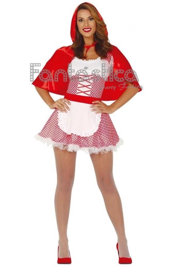 Disfraz Para Mujer Sexy Caperucita