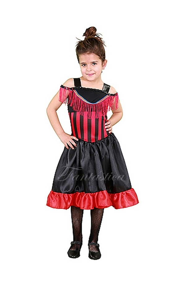 d37398c6f Disfraz para Niña Bailarina de Can Can. Precioso disfraz para niña de  bailarina de Can Can. Incluye vestido de can can. Es un disfraz ideal para  Carnaval