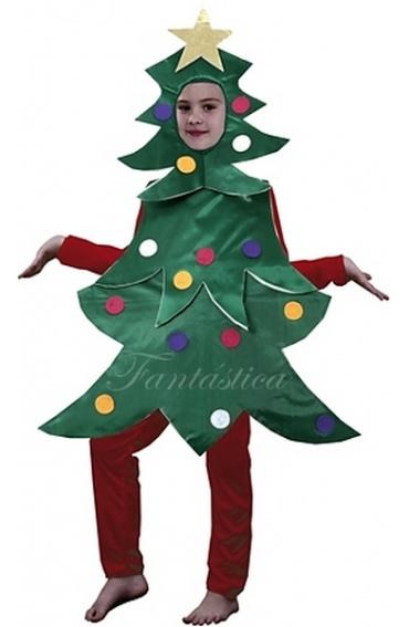 Disfraz para ni o y ni a arbol de navidad - Disfraz navideno nina ...