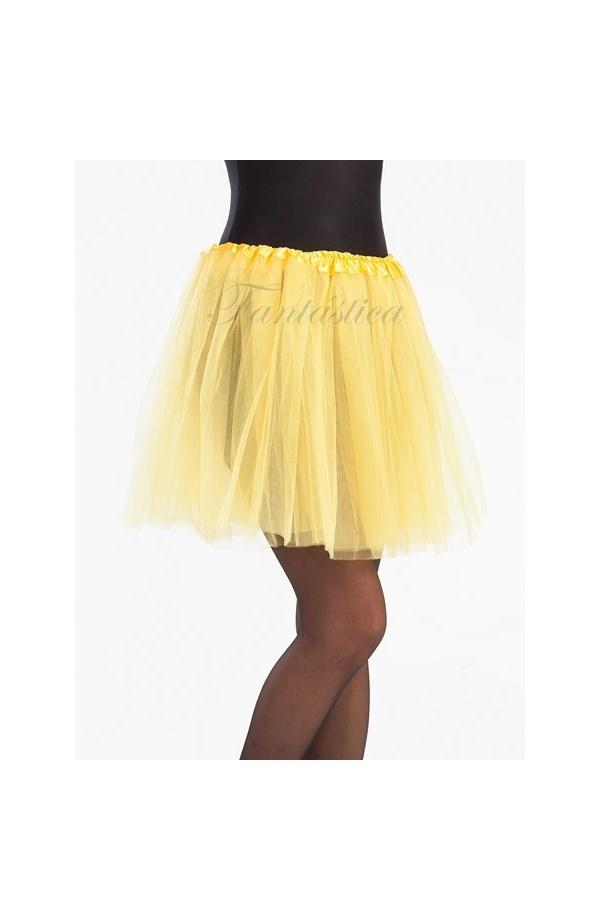 gran descuento obtener online paquete elegante y resistente Tutú para Ballet y Danza - Falda de Tul para Mujer Color Amarillo