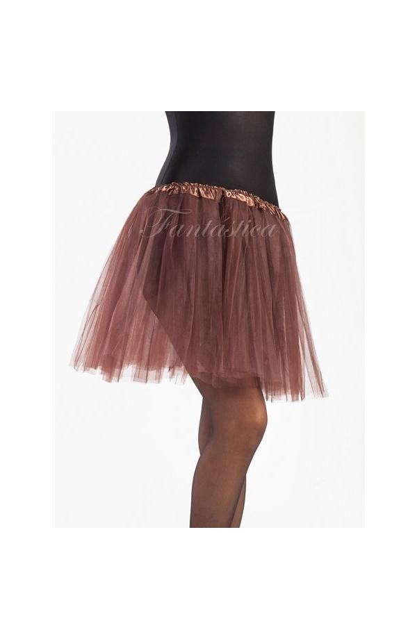 df837751dd Marrón Tul De Falda Para Color Y Ballet Mujer Tutú Danza q6XzwY