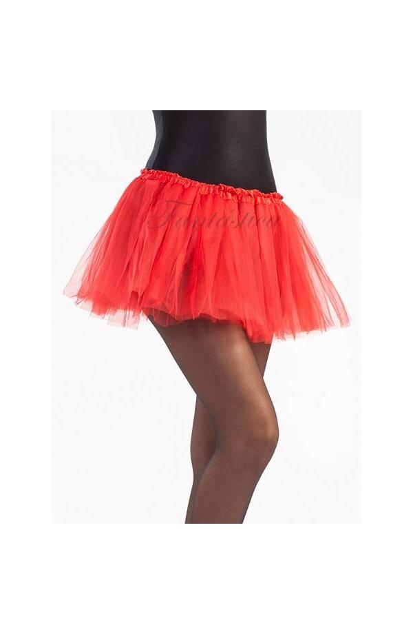 d2c35b7324 Tutú para Ballet y Danza - Falda de Tul para Niña y Mujer Color Rojo I