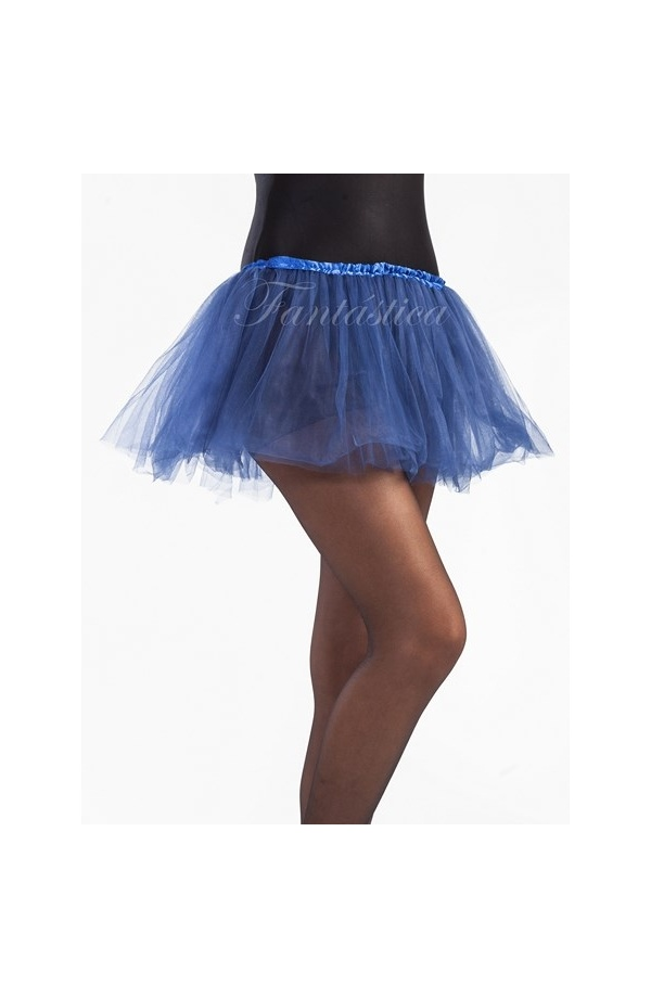 8f4181a31 Tutú para Ballet y Danza - Falda de Tul para Niña y Mujer Color Azul Marino