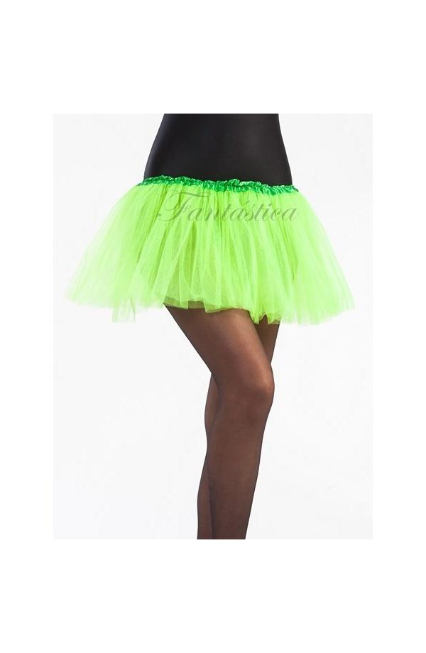 043516893 Tutú para Niña y Mujer Verde Pistacho. Tutú de tul color verde pistacho  ideal para ballet