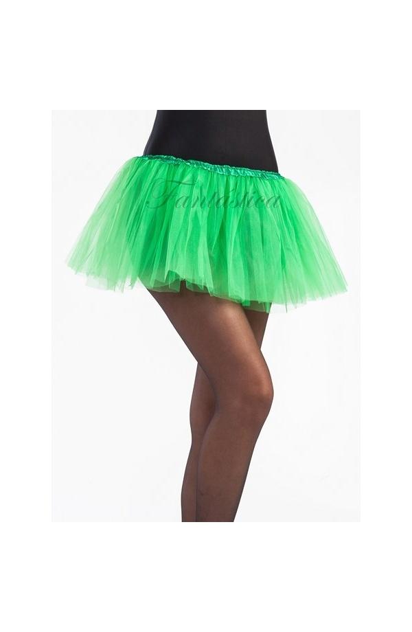 paquete de moda y atractivo ahorre hasta 80% liquidación de venta caliente Tutú para Ballet y Danza - Falda de Tul para Niña y Mujer Color Verde  Esmeralda II