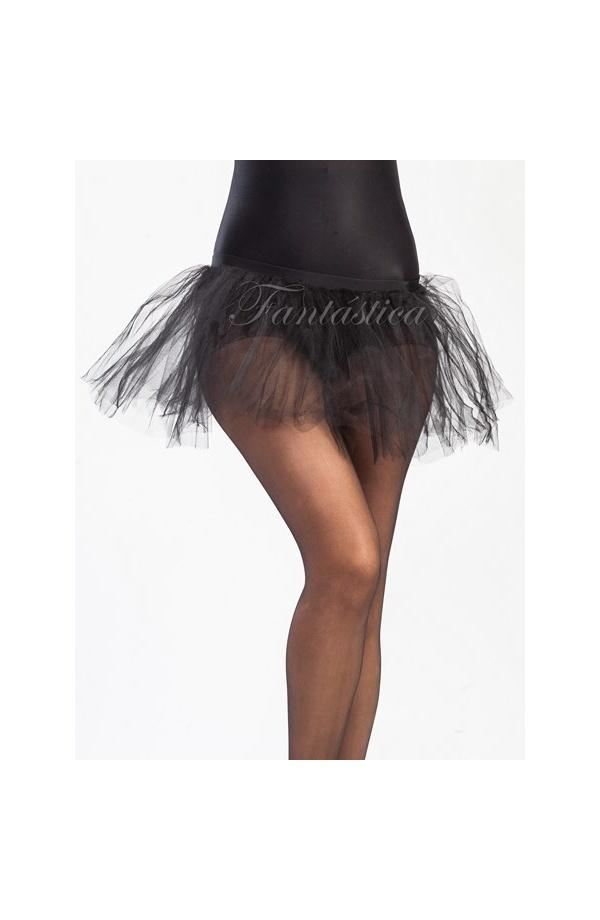 0fbdabbc1 Tutú para Niña y Mujer Negro. Tutú de tul color negro ideal para ballet,  fiestas temáticas, cumpleaños, Carnaval, Halloween, eventos especiales, ...