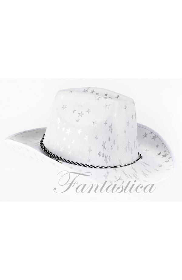 f22fbe2a5f9af Sombrero Vaquero para Disfraz de Cowboy Estampado de Estrellas Color ...