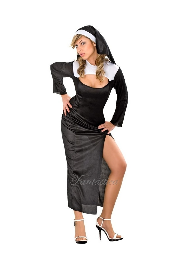 88fb3d84a Disfraz para Mujer Monja Sexy I