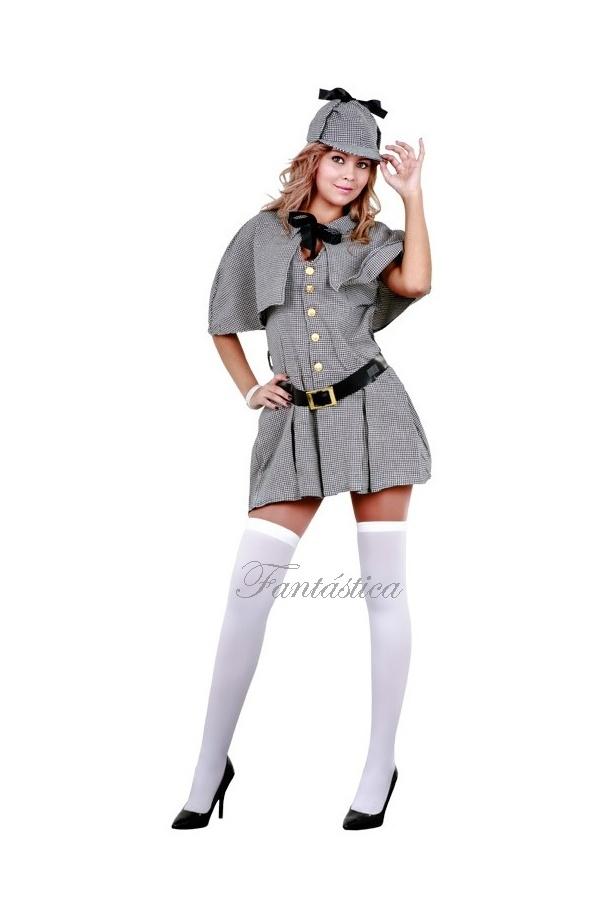 Disfraz para Mujer Detective Sherlock Holmes 118dcb349e9