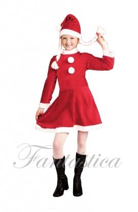 Disfraz Para Bebé Y Niña Mamá Noel Ii