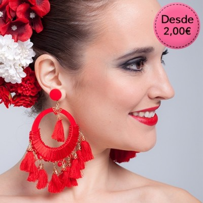 Flamenco & Spanish dance earrings