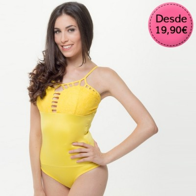 Bodies Sexys Color Amarillo y Mostaza