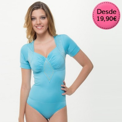Bodies Sexys Color Azul y Turquesa