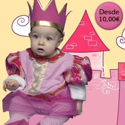 Prince and princess costumes