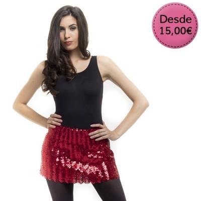 Minifaldas de Lentejuelas para Fiesta