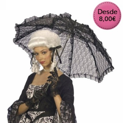 Lace Umbrellas for Costumes