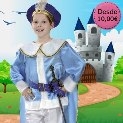 Disfraces de Príncipes, Reyes y Guerreros
