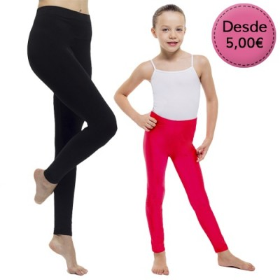 Leggings Opacos de Colores