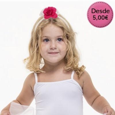 Diademas Flamencas para Bebé y Niña