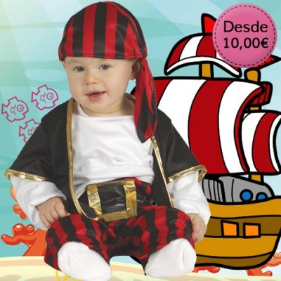 Pirates costumes for babies