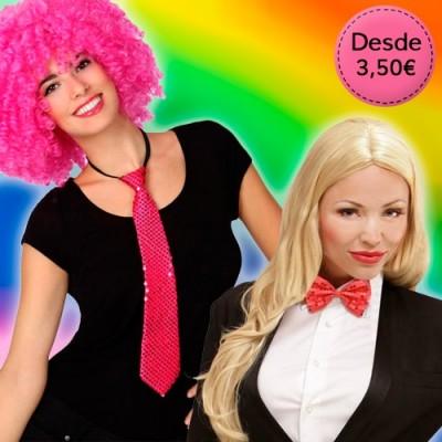 Corbatas y Pajaritas con Lentejuelas para Orgullo Gay